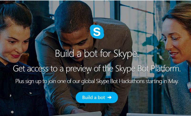 Microsoft anuncia Skype Bot SDK