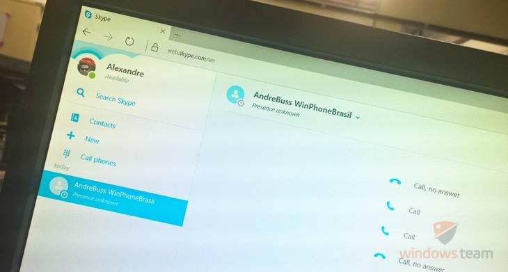 Skype Web agora pode fazer ligações para celulares e telefones fixos