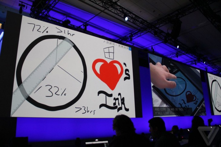 windows ink build 2016 rules