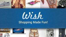 Comprar produtos importados nunca foi tão fácil com o Wish – Shopping Made Fun