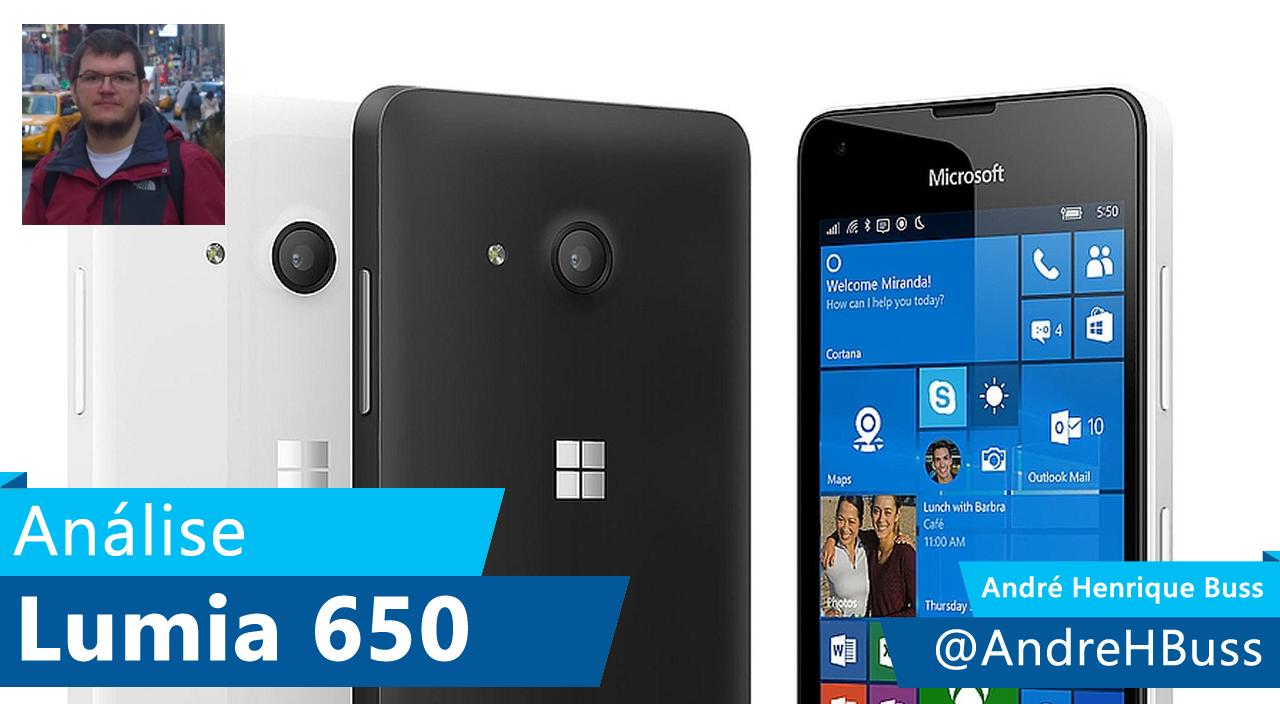 [Vídeo] Análise Microsoft Lumia 650