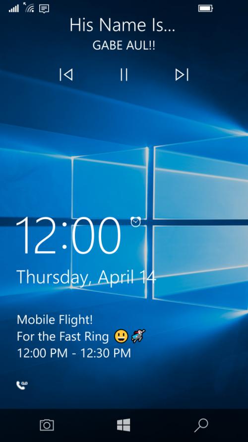 build 14322 windows 10 mobile insider groove music