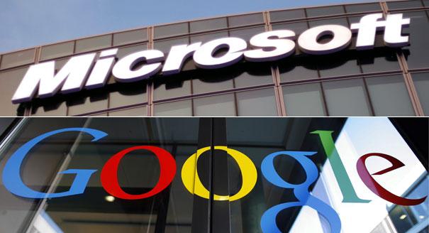 microsoft and google peace