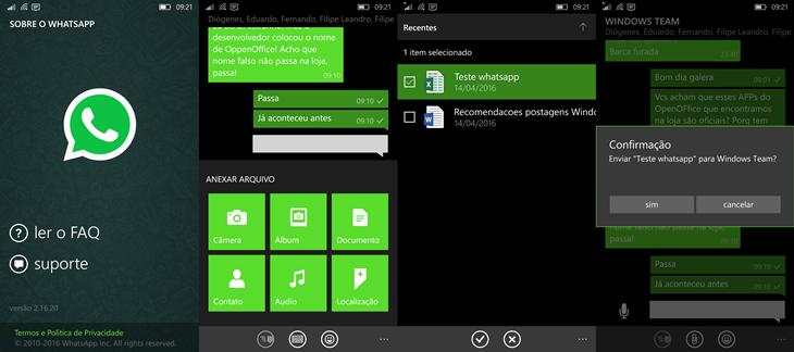 whatsapp beta windows phone office docs