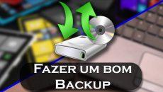 Aprenda a fazer um BOM backup de seu PC e Smartphone Windows!