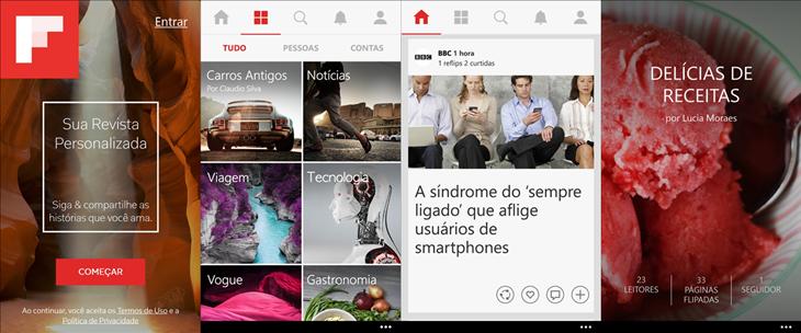 Flipboard encerra suporte ao Windows Phone