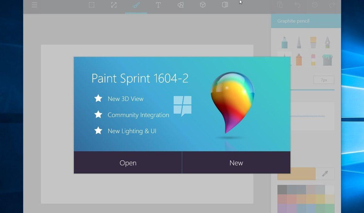 Paint pode se tornar um aplicativo universal para Windows 10 em breve!