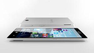 Conceito de um Surface Phone com Windows 10