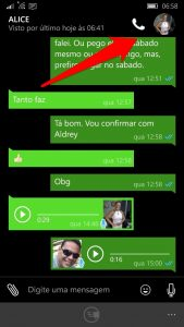 Novidades no WhatsApp Beta