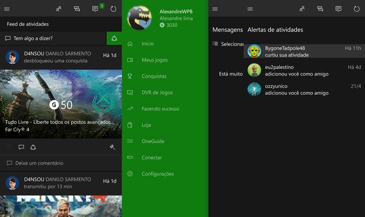 xbox app windows 10 mobile img1