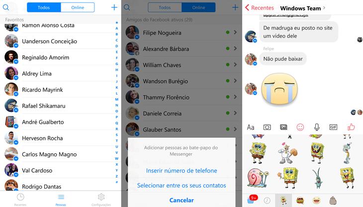 facebook messenger beta windows 10 mobile img4