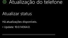 Build Redstone 14364 liberada para insiders do Windows 10 Mobile