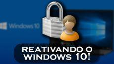 [Vídeo] Como reativar o Windows 10 após formatar ou trocar de Hardware?