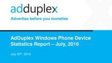 Segundo a AdDuplex o Windows 10 Mobile ainda é usado por poucos