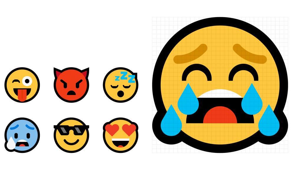 emojis windows 10 novos