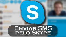 Agora é possivel enviar SMS pelo aplicativo universal do Skype!