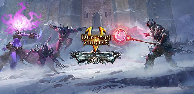 dunger hunter 5 muralha congelada img1