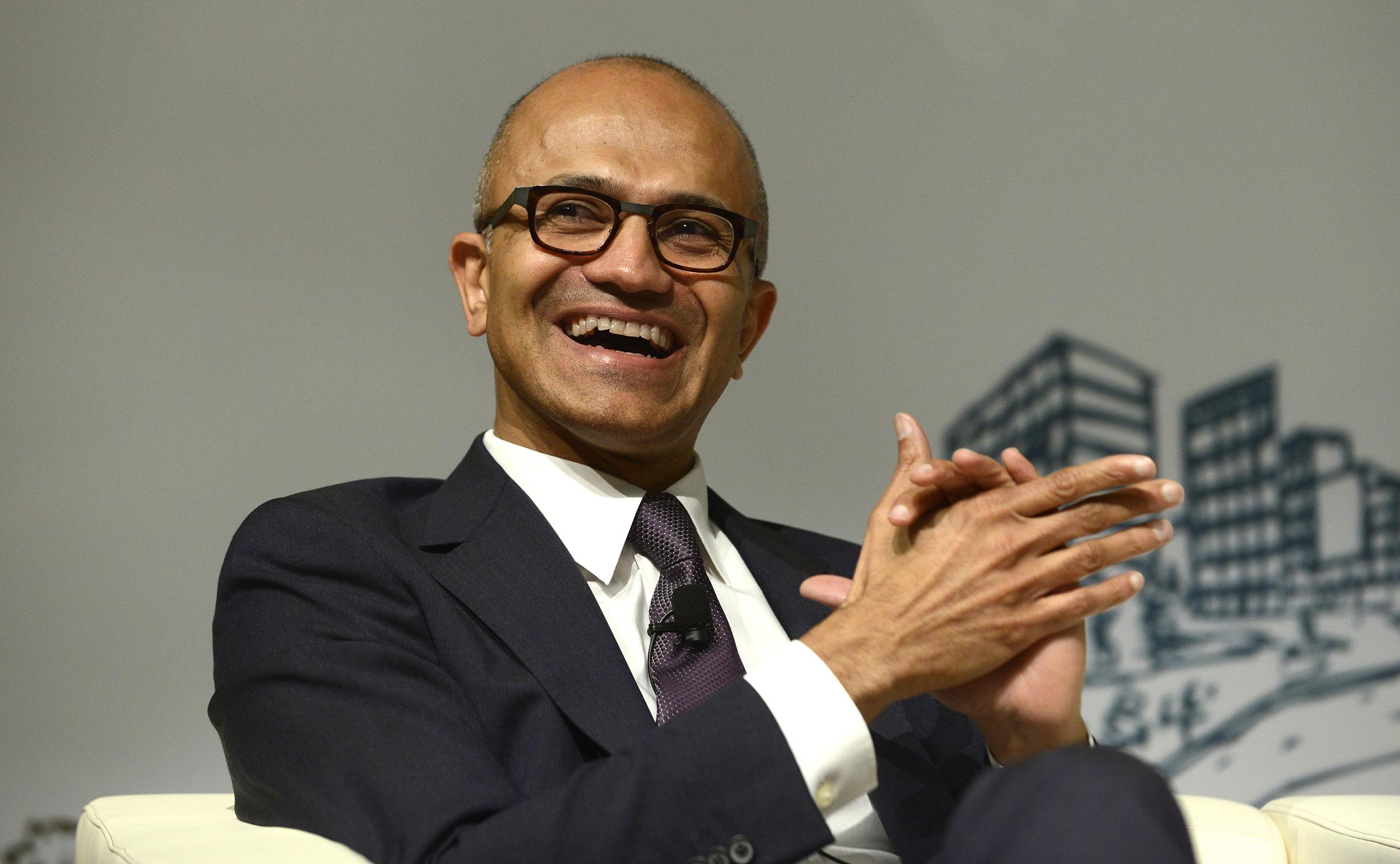 CEO Of Microsoft Satya Nadella
