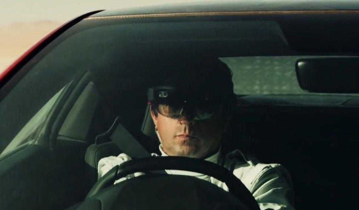 HoloLens  e Honda NSX, vídeo promocional