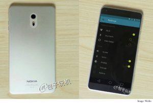 Essa seria uma suposta imagem realmente do Nokia C1 com Android