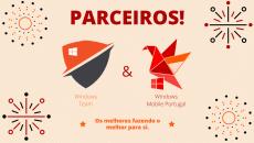 Anúncio – Parceria Windows Mobile Portugal e Windows Team