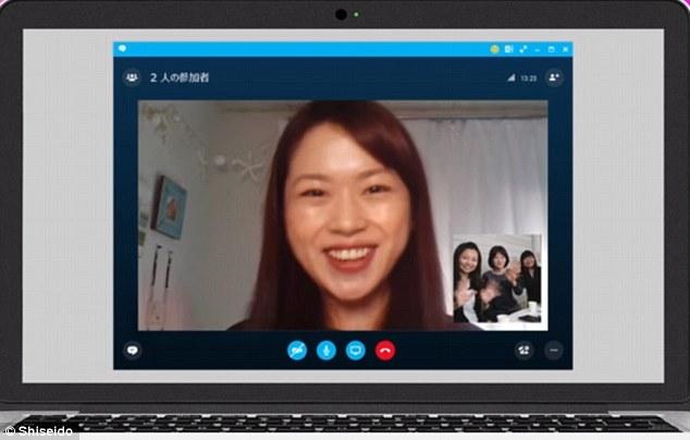TeleBeauty: Microsoft e Shiseido criaram um app de maquiagem virtual para vídeo conferências