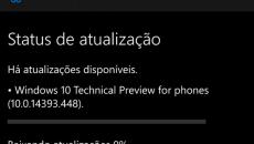 Build 14393.448 liberada para versão pública do Windows 10 Mobile