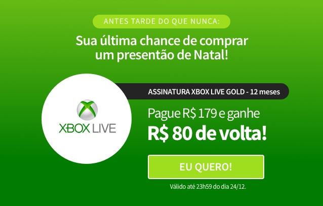 [Dica] 1 ano de Xbox Live Gold por R$ 99