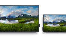 Dell anuncia dois monitores interativos parecidos com o Surface Hub