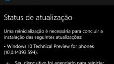 Build 14393.594 agora liberada para o Windows 10 Mobile