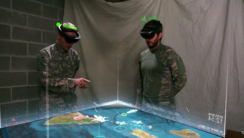 Força Aérea australiana está testando o Microsoft HoloLens