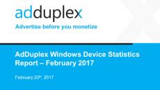 Relatório da AdDuplex de fevereiro mostra dados interessantes sobre PCs e linha Surface