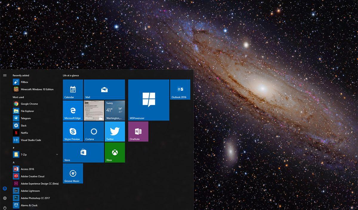 Microsoft Andrômeda pode ser uma nova experiência de desktop para dispositivos Windows 10