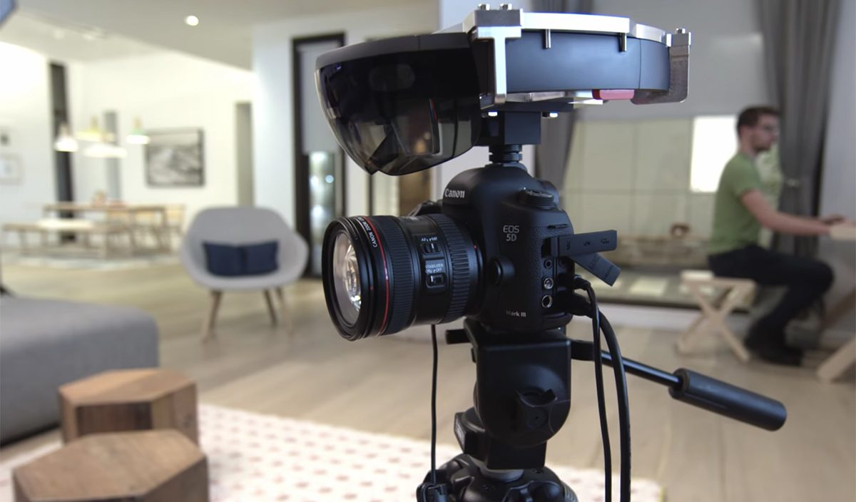 Microsoft acaba de lançar uma ferramenta de captura de vídeo para HoloLens