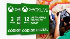 Xbox Live Gold de 3 e 12 meses com até 25% de desconto por tempo limitado