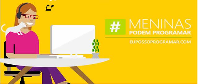 Microsoft lança campanha Eu Posso Programar para Meninas