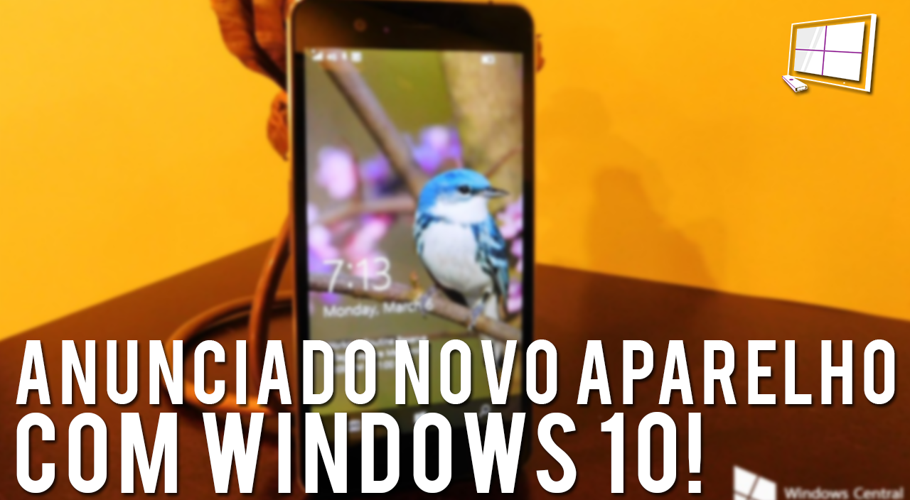 ANUNCIADO NOVO APARELHO COM WINDOWS 10! – CWNews #3