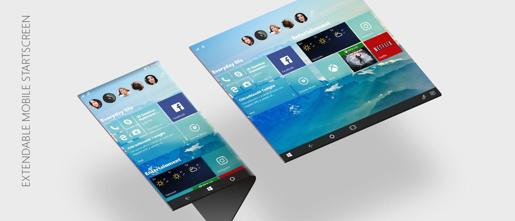 Surge a primeira build do Windows 10 para dispositivos dobráveis