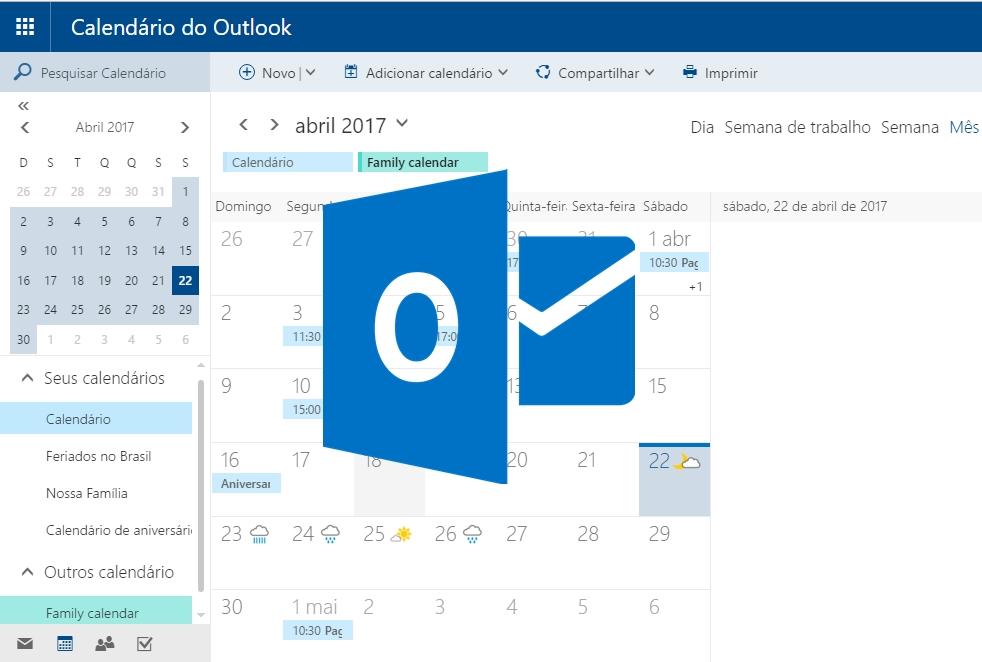 Outlook Calendario.Anunciadas Novas Funcionalidades De Calendario Para O