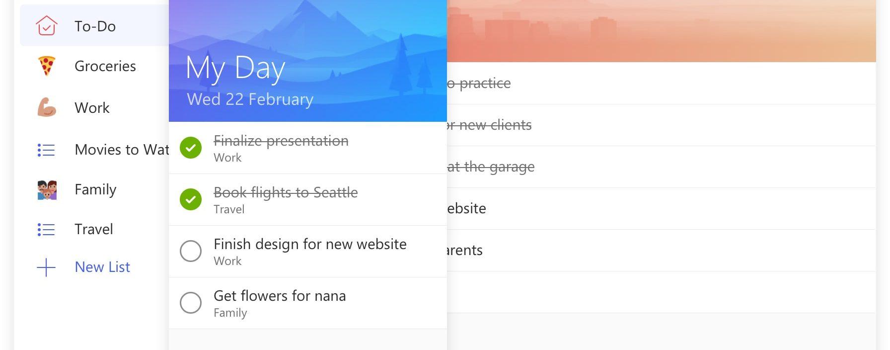 Novo App Microsoft To-Do liberado para todas as plataformas