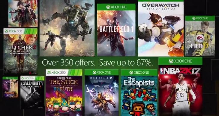 Microsoft promete super promoção de jogos, acessórios, filmes, xbox live gold a partir do dia 11 deste mês