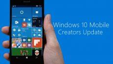 Você já pode atualizar seu smartphone com Windows 10 para a Creators Update