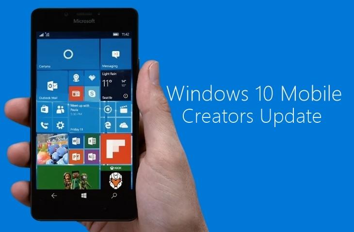 Microsoft confirma lista de smartphones com suporte oficial a Creators Update