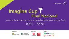 Acompanhe ao vivo a final nacional da Imagine Cup 2017
