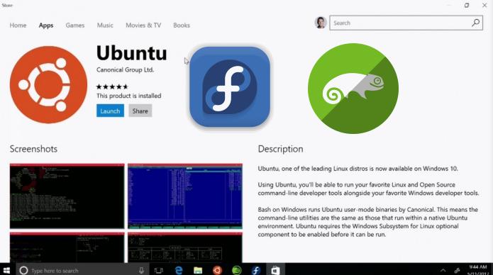 Qual o sentido da Microsoft permitir o download do Ubuntu dentro da Windows Store?