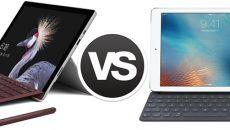 Novo Surface Pro VS Novo iPad Pro