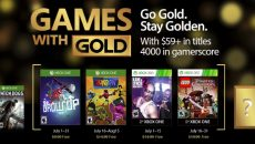 Conheça os jogos do Games With Gold de julho de 2017
