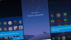 Microsoft's Arrow Launcher ganha novidades via update
