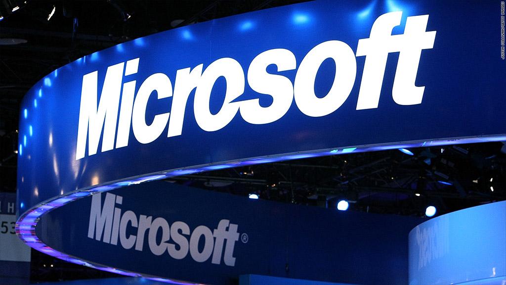 Receitas dá Microsoft só cresceram no último trimestre de 2017