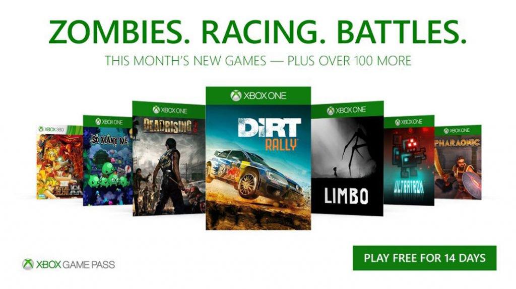 Xbox Game Pass ganha 7 novos jogos inclusive Dead Rising 3
